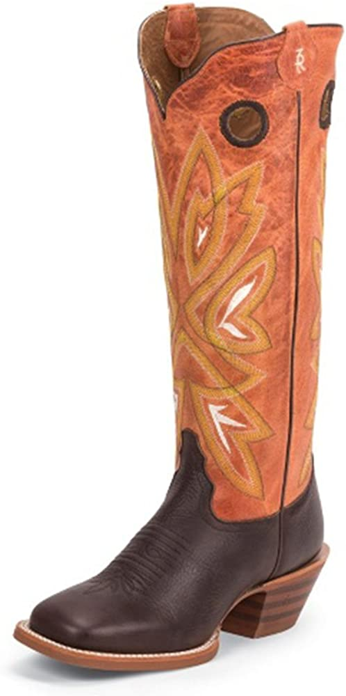 Womens Durango Brown Leather Western Rodeo Cowboy Ankle Boots