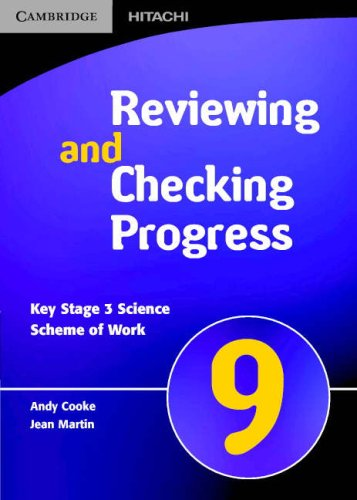 Spectrum Reviewing and Checking Progress Year 9 CD-ROM (Spectrum Key Stage 3 Science) ebook