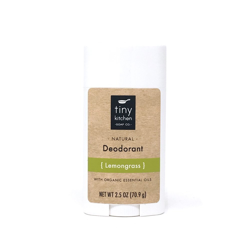 Natural Deodorant - Lemongrass - Handmade with Organic Ingredients