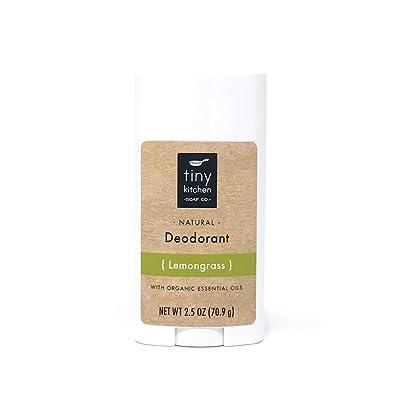 Natural Deodorant - Lemongrass - Handmade with Organic Ingredients