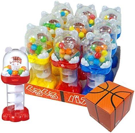玩菓 くるくるバスケ 9個入セット 11989BOX お家遊び ガム 玩具 TOY おもちゃ おやつ 子供 キッズ ギフト プレゼント