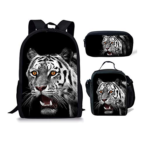 Cartable 1 Chaqlin Fox Moyen Noir Tiger 3pcs 1 7qPRzPF