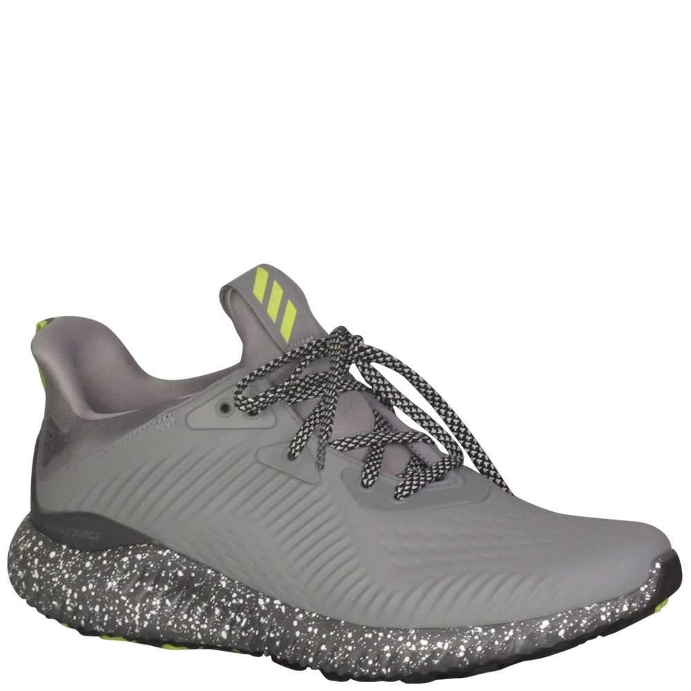df9045a78 Amazon.com  adidas Kids Boy s Alphabounce EM CTD J (Big Kid)  Black Grey Yellow 5.5 M US Big Kid  Shoes