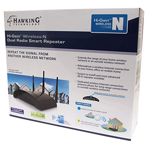 Hawking Technology Dual Radio Smart Repeater (HW2R1) by Hawking Technology (Image #3)