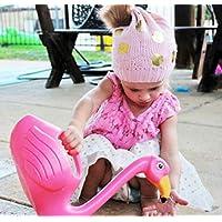 Huasen Child Plastic Pink Flamingo Watering Can Gardening Water Sprayer