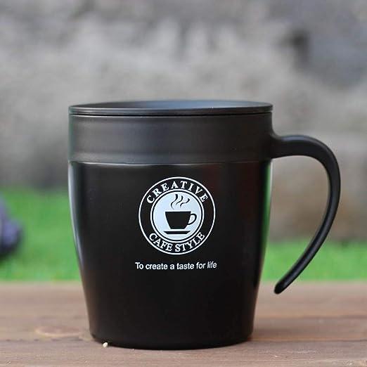 Taza Termo con Mango de café Taza de café Personalizada de Acero ...