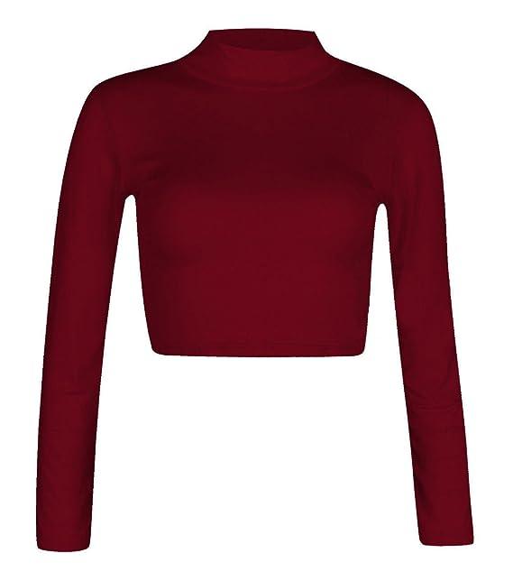 Fashion para mujer Polo 4 menos con cuello alto de manga larga para muñecos elásticos con camiseta de fútbol para hombre Pack de costura para camisetas de ...
