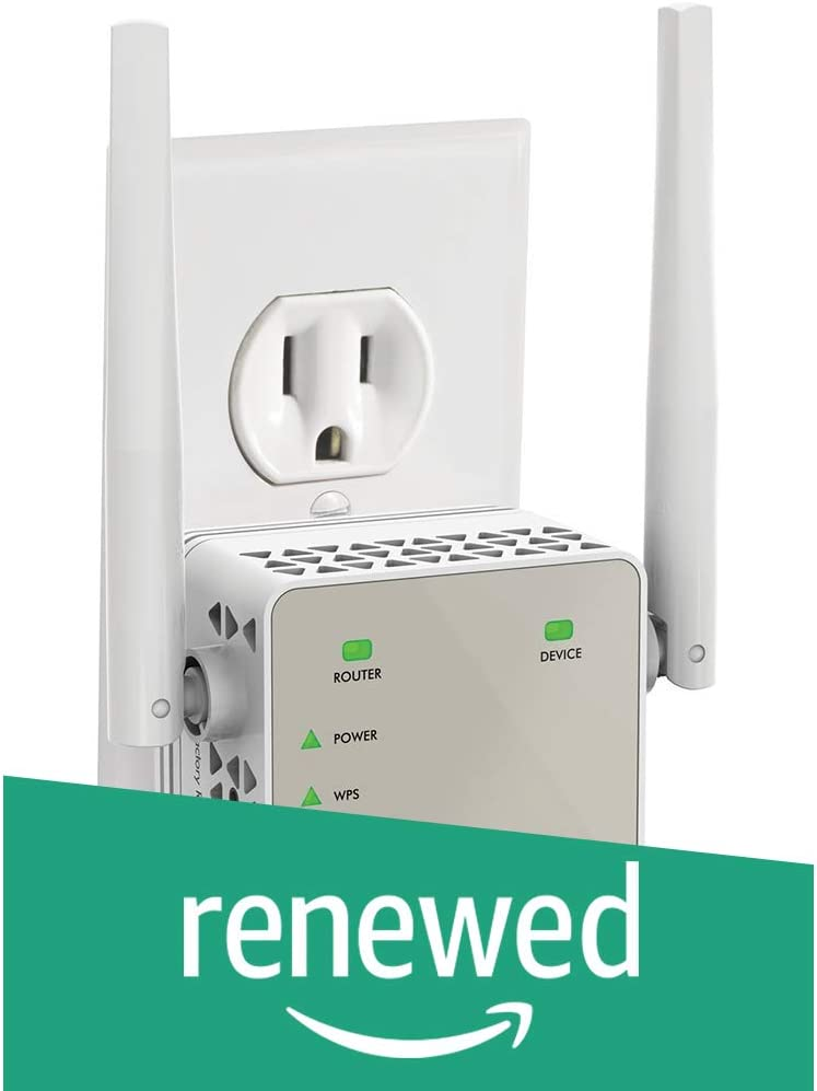 NETGEAR WiFi Range Extender (Renewed)