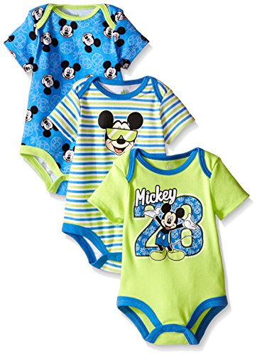 Disney Baby Mickey Mouse Bodysuits