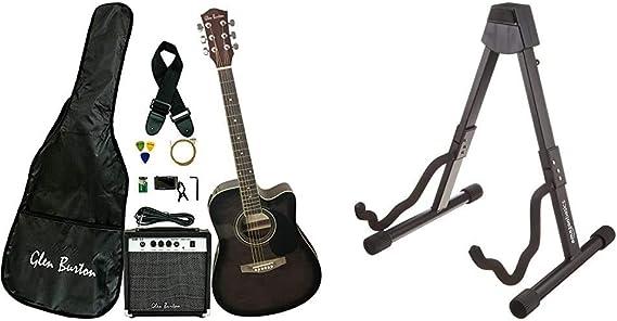 Glen Burton GA204BCO-BK Guitar