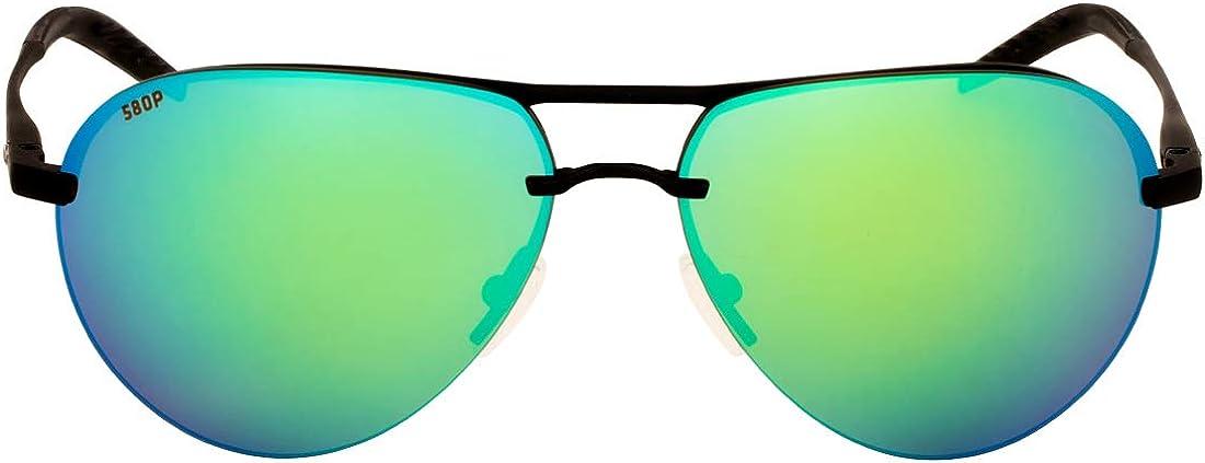 Costa Del Mar Helo Sunglasses HLO-243-OGP Matte Champagne Gray 580P Deep Blue