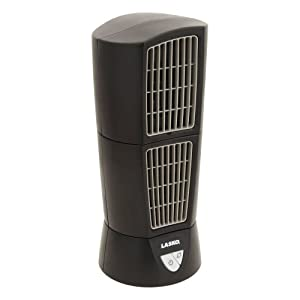Lasko 4916 Desktop Wind Tower Oscillating Fan