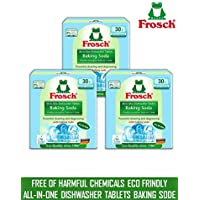Frosch Baking Soda All-in-One Dishwasher 90 Tablets (3 packets)