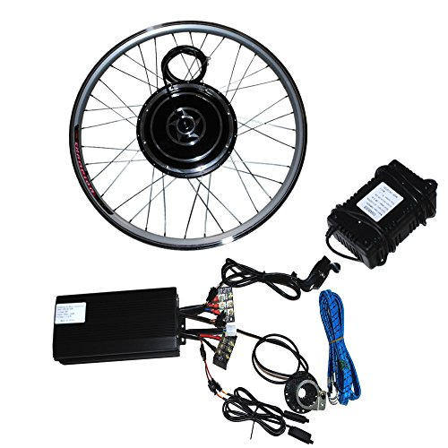 Sican 26 48v 1000w front wheel electric bicycle motor kit for Most powerful electric motor