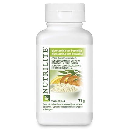 Nutrilite - Glucosamina, sustancia natural extraída del marisco, 120 cápsulas