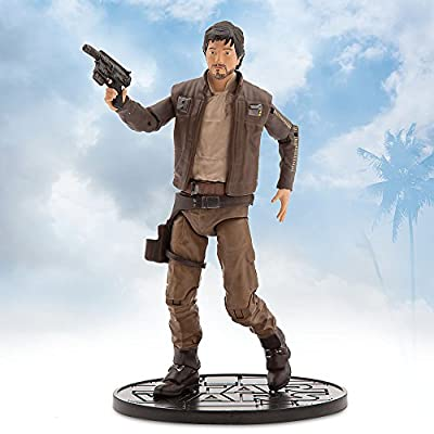 Star Wars Captain Cassian Andor Elite Series Die Cast Action Figure - 6.5 Inches - Rogue One: A Star Wars Story