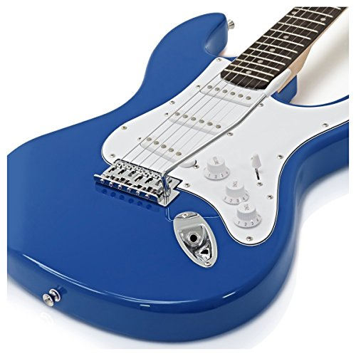 Guitarra Eléctrica LA + Paquete de Amplificador de 10 W Azul: Amazon.es: Instrumentos musicales