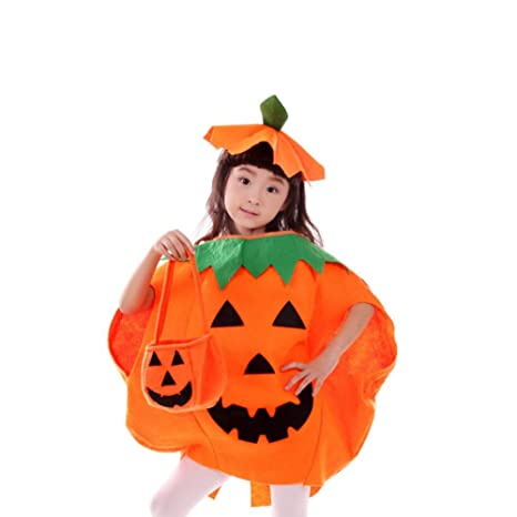 yaxuan halloween costume childrens pumpkin costumes pumpkin hat halloweencarnival childrens day festival