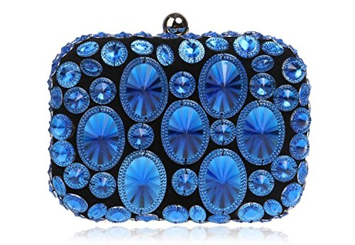 HMaking Evening Clutch Bags New Design Gift Womens Crystal Rhinestone bag … -