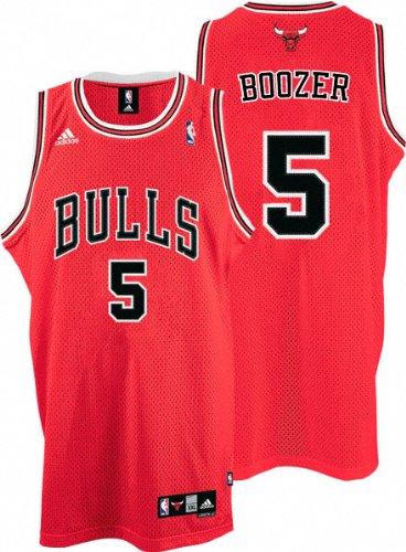 234b4bc43 chicago bulls 5 carlos boozer revolution 30 swingman red big color ...