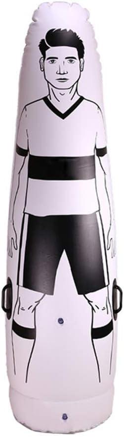 JeromKewin Defensor Entrenamiento Maniquí Hinchable Entrenamiento de Fútbol Portero Vaso Aire Adulto Fútbol Tren Maniquí Herramienta 1.75m - Inflatable Wall