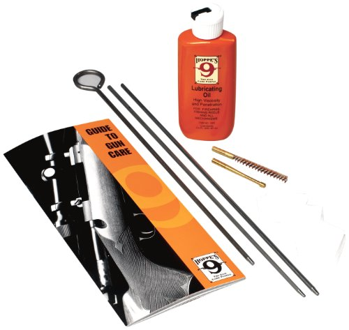 Hoppe's Cleaning Kit for Air Rifle and Pistol with Steel Rod and Box from Hoppe's