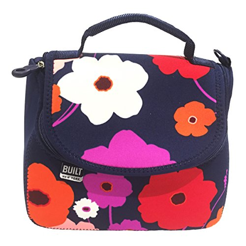 NY Bistro Neoprene Crossbody Flower