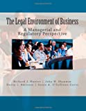 The Legal Environment of Business, Richard Hunter and John Shannon, 1468086839