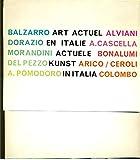 Art actuel en Italie. Actuele kunst in Italia