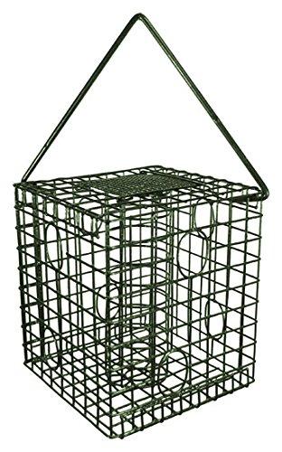 Squirrel Resistant Cage Fat Ball Fatsnack Feeder for Wild Birds #CF2175