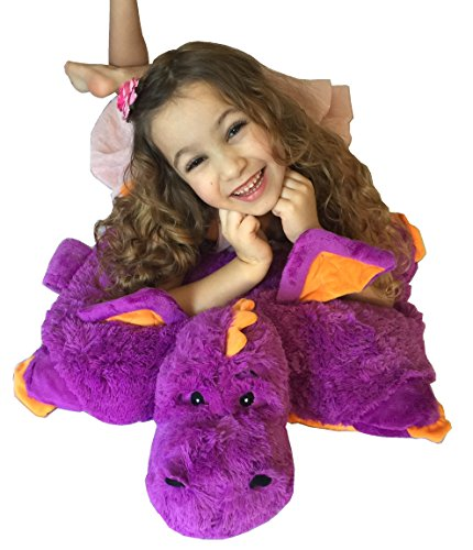 Purple Dragon ZooPurr Stuffed Animal