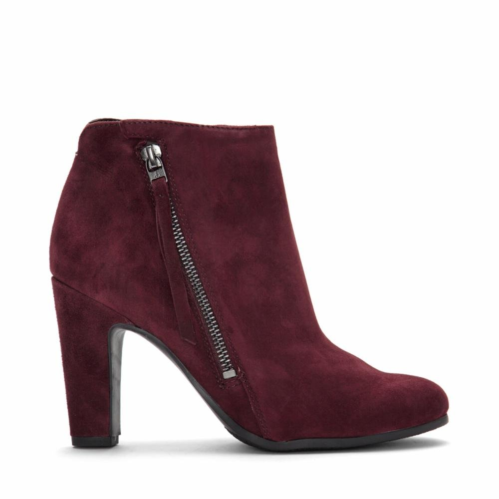 Sam Edelman Women's Sadee Ankle Boot B06XBWJDLH 6.5 B(M) US|Malbec Suede