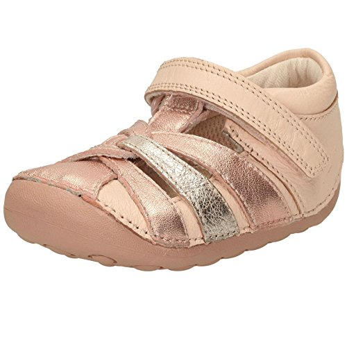 Clarks Little Mae Mädchen Sneakers Rose Gold
