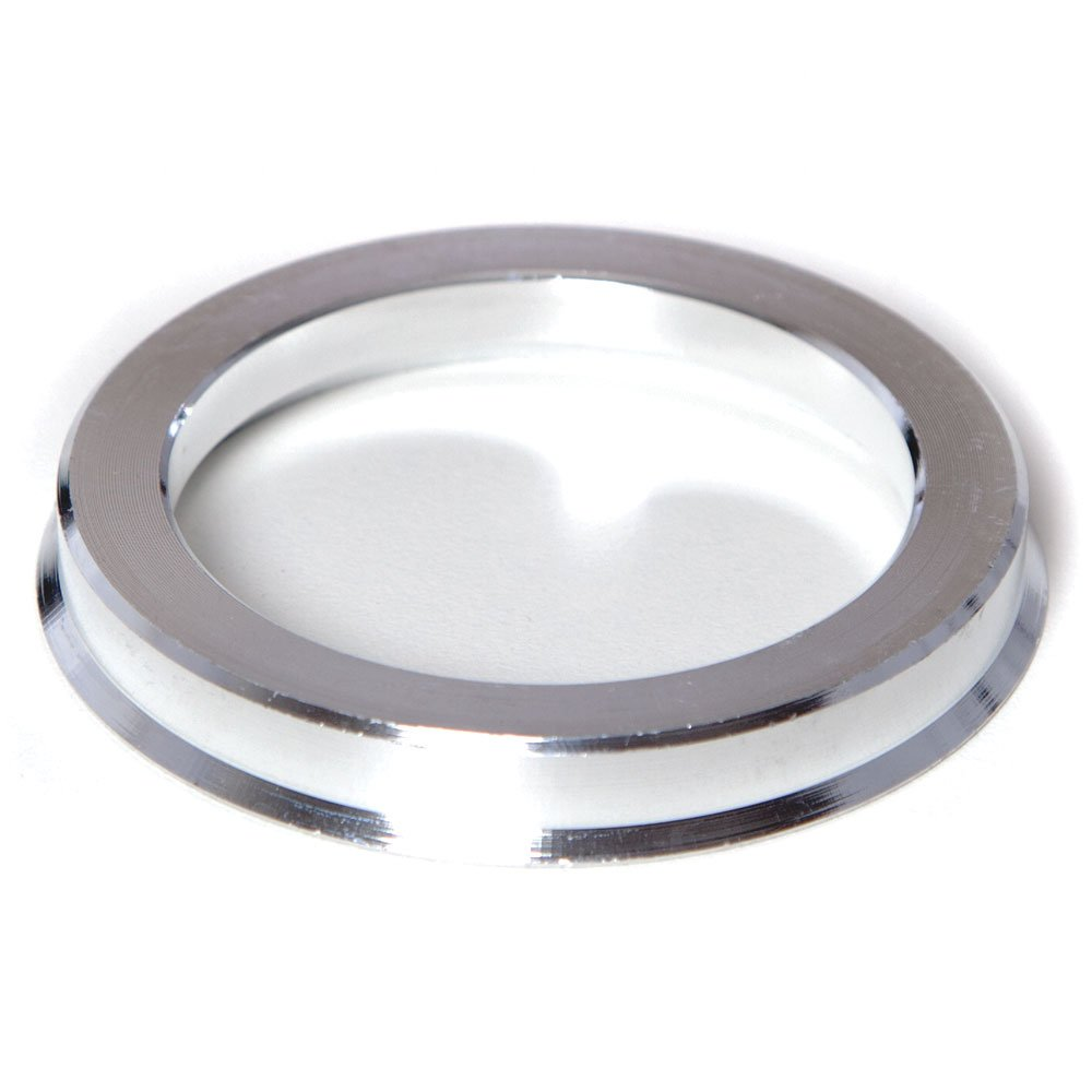 73.1mm OD to 65.1mm ID Circuit Performance Silver Aluminum Hub Centric Rings