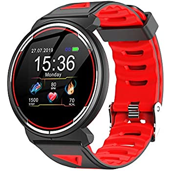 Smart Watch for Android iOS Phones, AIVEILE All-Rounder Version Activity Fitness Tracker Bluetooth Bracelet Waterproof Smartwatch with Blood Pressure ...