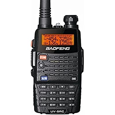Baofeng UV-5RC Plus Dual Band Handheld Twin Pack