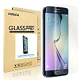 Samsung Galaxy S6 Edge Plus Screen Protector, NOKEA Full Screen Coverage [9H Hardness] [Crystal Clear] [Easy Bubble-Free Installation] [Scratch Resist] Tempered Glass (for S6 Edge Plus)