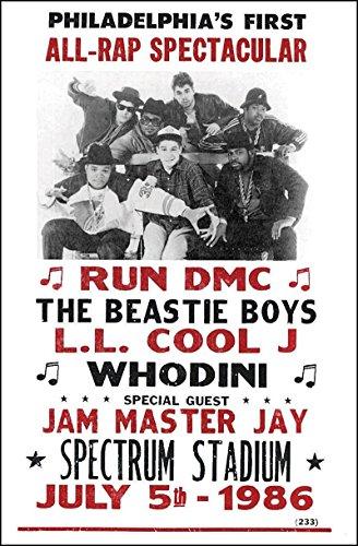 run dmc concert poster