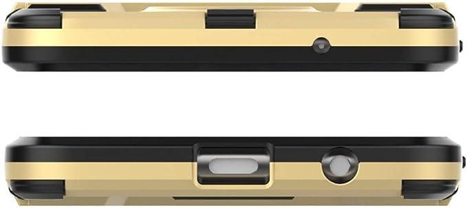 COOVY® Funda para Motorola Moto X4 de plástico y Silicona TPU ...