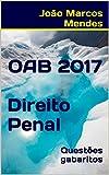 eBook OAB - Direito Penal - 2017: Questões com gabarito oficialnull