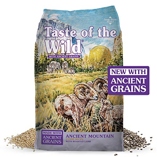 Taste of the Wild Ancient Mountain Canine Recipe with Roasted Lamb & Ancient Grains 28lb