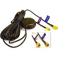 GPS+GSM (850/900/1800/1900/2100MHz) / 3dBi GSM, 28dBi GPS gain GSM/GPS Antenna