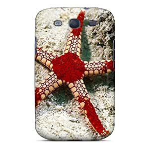 Defender Case For Galaxy S3, Starfish Pattern