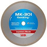 8 wet cutting blade - MK Diamond 166067 MK-301 Gemking 8-Inch Lapidary Wet Cutting Diamond Blade