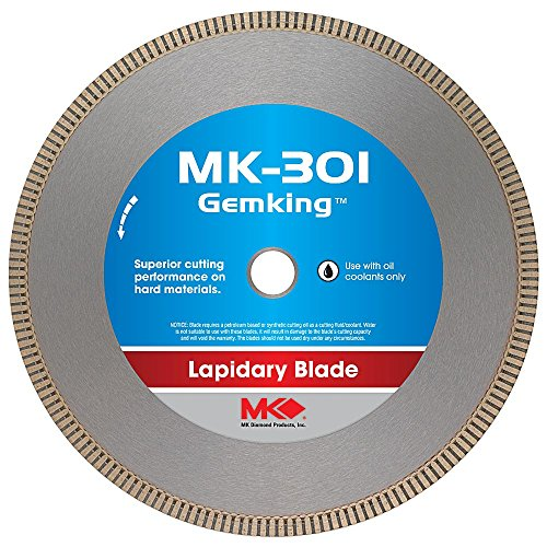 MK Diamond 166070 MK-301 Gemking 14-Inch Lapidary Wet Cutting Diamond Blade