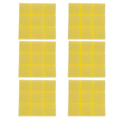 B Blesiya 6 Piezas Paneles de Espuma de Cuña Acústica de Absorción para Principiantes Producción Instrumentos