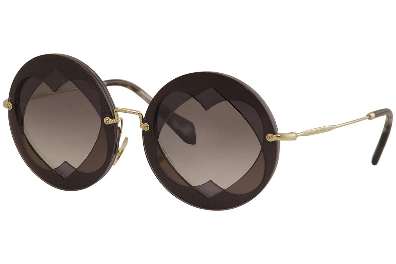 Miu Miu 0MU01SS BOL3E2 62 Gafas de sol, Morado (Plum/Violet ...
