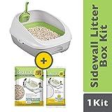 Purina Tidy Cats Litter Box System; BREEZE System Starter Kit Litter Box, Litter Pellets & Pads