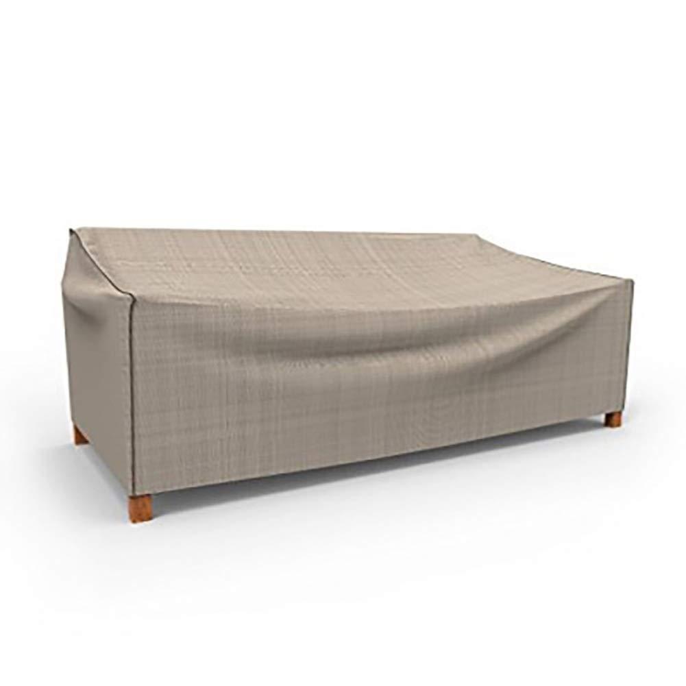 ファニチャーカバー庭の藤の家具カバー家の屋外の塵カバー防水および耐久力のある、25サイズ (Color : Khaki, Size : 308x138x98cm) B07T49P26C Khaki 308x138x98cm