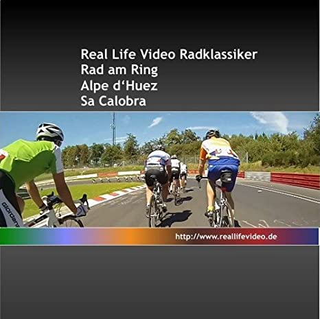 Real Life Video Challenge Roth f/ür Tacx, Daum, Kettler, CycleOps und Cyclus 2